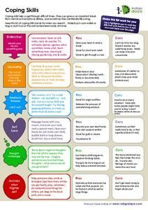 Coping Skills 5th 12th Grade Worksheet Coping Skills Worksheets Coping Skills Emotional Wellness