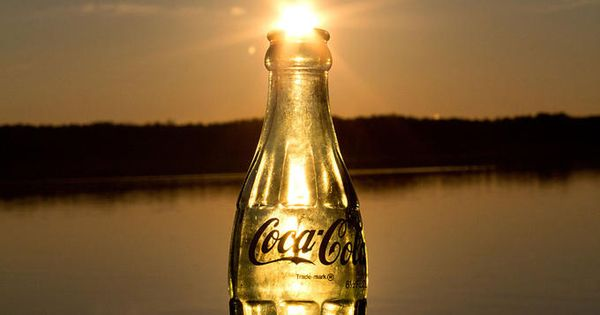 What A Cool Way To Frame The Sun Coca Cola Sunset