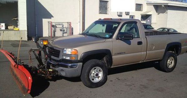 Sell Used Gmc Sierra 2500 Snow Plow Truck Curtis Western Meyers