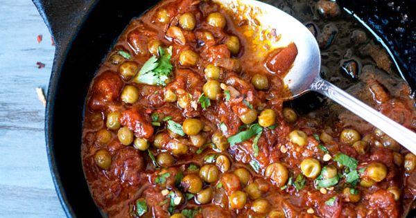 Comfort food : Tomato Chickpea stew