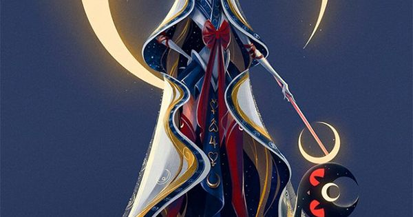 Character Design Challenge Sailor Moon : Entry for the sailor moon themed character design