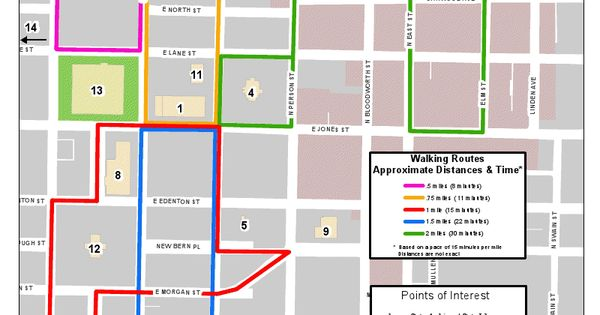 Downtown Raleigh Walking Map Want To See More Creative