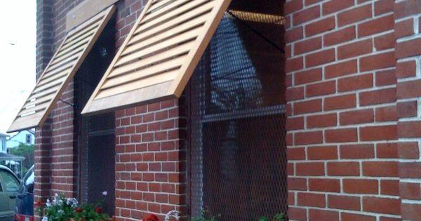 Diy Wooden Shutters Exterior