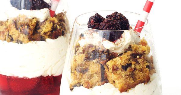 Christmas Cake Leftover Ideas : Leftover Christmas Cake Parfaits Recipe Parfait ...