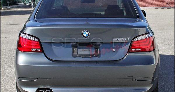 Spec D Led Tail Lights Bmw E60 5 Series 04 07 Red Chrome