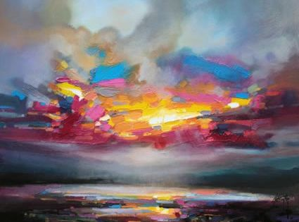 scott Naismith love the contrast in paint brushes.