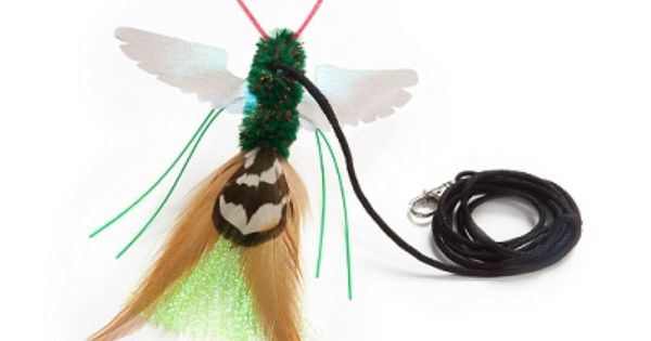 Go Cat Da Bird Rod And Feather Cat Toy Handmade In The Usa 1 Bird Be Sure To Check Out This Awesome Product This Is An Aff Cat Toys Bird Bird Feathers