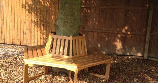 Wrap Around Tree Bench For The Tree Right Next To Our Fence Backyard Pinterest Tree Bench