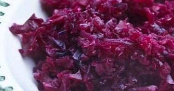 German red cabbage, Red cabbage recipes and Red cabbage on Pinterest