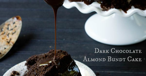 Bundt cakes, Almonds and Dark on Pinterest
