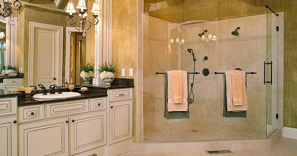frameless glass shower enclosure with towel bars. Bathroom Inspiration ...