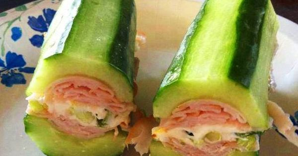 Cucumber Sub - This looks super delicious! Imagine what other ingredients you