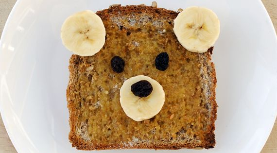 Teddy bear toast - Now that all my pals have kiddos I