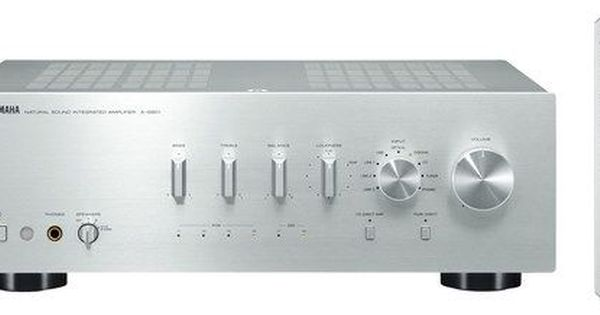 Yamaha A S801 320w 2 Ch Integrated Amplifier Silver A S801sl Best Buy Integrated Amplifier Stereo Amp Yamaha Audio