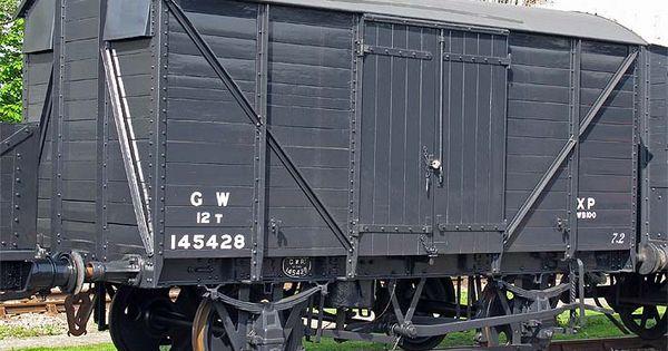 145428 Van Best Wagons Train Car Rolling Stock
