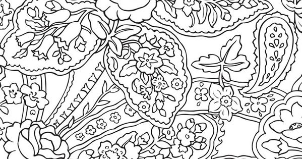 BLISS Paisley Coloring Book: YOUR PASSPORT TO CALM by ...