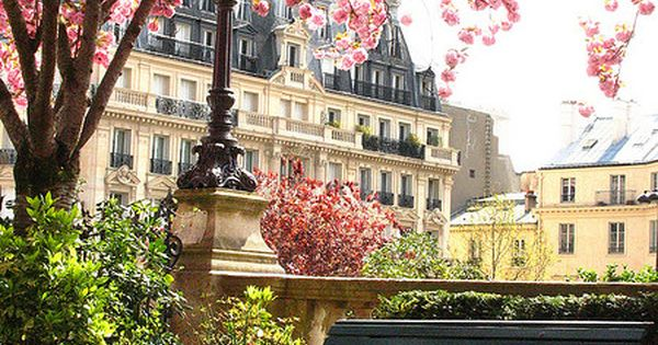 Cherry Blossom Park, Paris. I think I will have to add this
