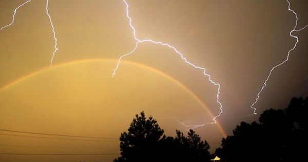 Rainbow and Storm Together 3 | Lightening