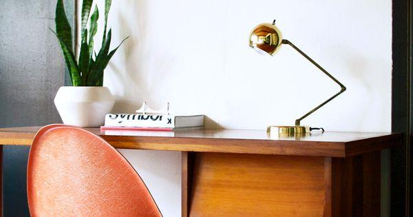 #midcenturymodern desk