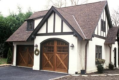 Tudor Garage Garages Pinterest Tudor Exterior And House