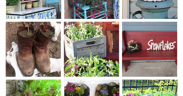 100 gorgeous garden junk ideas