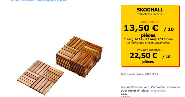 Une salle de bain ikea hacks d tournement de meubles for Caillebotis ikea exterieur