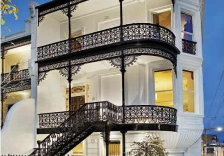 love the New Orleans style balconies