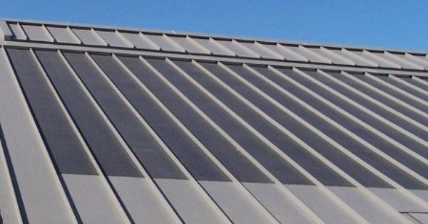 Thin Film Solar Panels On A Mcelroy Metal Roof Solar Roof Solar Panels Solar Roof Tiles