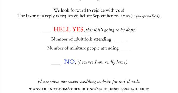 Fun Wedding Rsvp Wedding Invite And Response Card I Did For Sarah Perry S Russell S