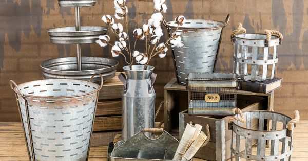 Galvanized metal what industrial dreams are made of home decor pinterest the o 39 jays Metallic home decor pinterest