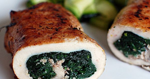Spinach, Chicken with spinach and Chicken on Pinterest