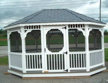 Sample Gazebo Plans 09 10x16 Ft Octagon Gazebo Immediate Download Shed Gazebo Plans Vintage Books Magazines Comics On Gazebo Plans Gazebo Gazebo Roof