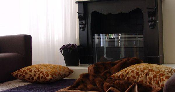 Droom even mee een chique woonkamer in landelijke stijl waar rust je overvalt parade - Sofa landelijke stijl stijlvol ...