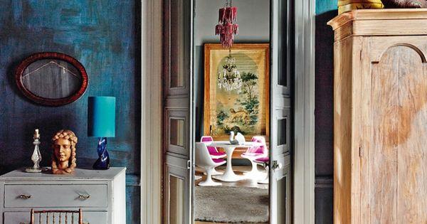 Colorful Home: Mexico City - DustJacket Attic  interior.love  Pinterest