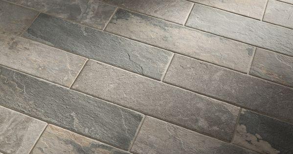 Shop Style Selections Ivetta Black Slate Glazed Porcelain