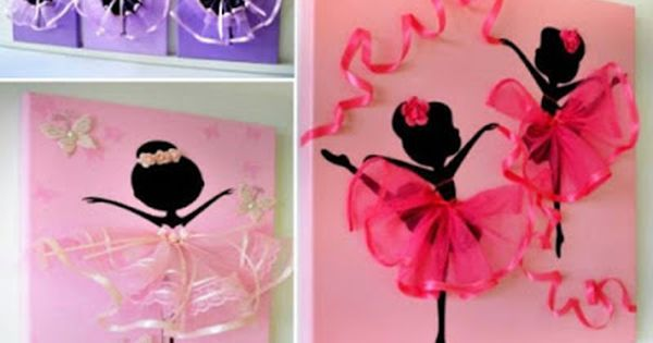 ideas para elaborar hermosos cuadros decorativos con tul y listn