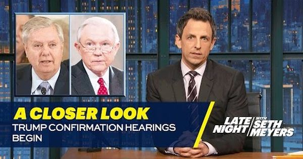 Trump Confirmation Hearings Begin A Closer Look Youtube Comedy Tv How To Memorize Things The Daily Show