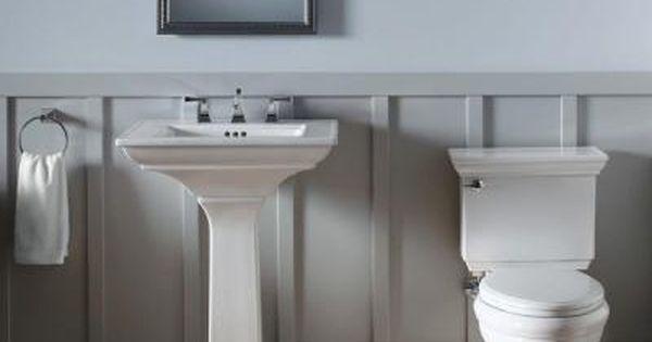 Kohler 20 In X 26 In Recessed Or Surface Mount Medicine Cabinet K Cb Clw2026ss The Home Depot Pedestal Sink Bathroom Pedestal Sink Rectangular Sink Bathroom