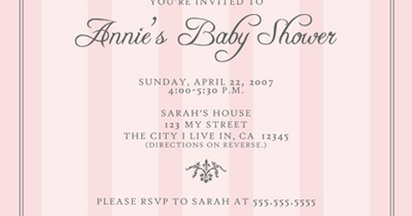 baby shower invitation idea if girl. | baby shower ideas,