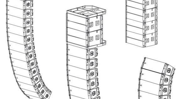 Spe Audio Line Array Speaker Plans 2 10 Inch Speaker Line