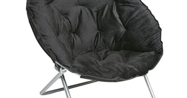 Oversized Saucer Chair Black At Big Lots In Store
