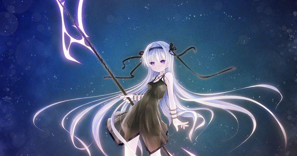 anime girl with scythe | Scythe | Pinterest | Anime, Girls ...