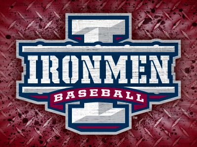 Ironmen Baseball Baseball Travel Baseball Sports Logo
