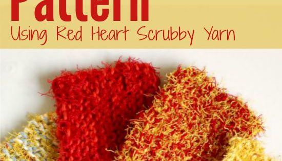 Knit Scrubbie Pattern Using Red Heart Scrubby Yarn Fait ...