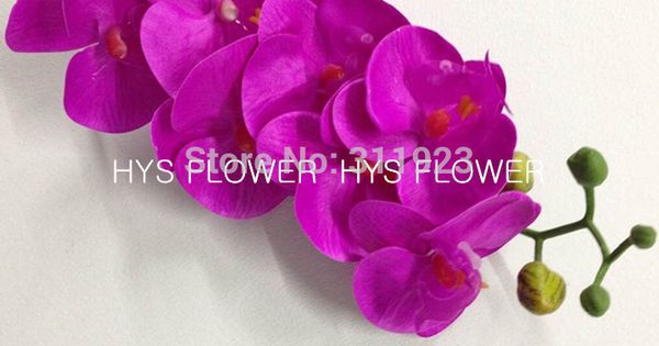 Flowers Artificial Orchid Flowers For Decoration Real Touch Orchid Wholesale Orchid Flowers In Decor Artificial Orchids Orchid Flower Cheap Flower Arrangements