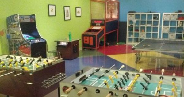 Get Your Game On In This Awesome Office Breakroom