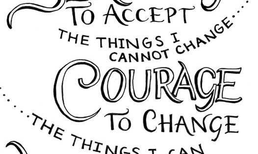 Serenity Prayer | ...Living one day at a time; enjoying one moment