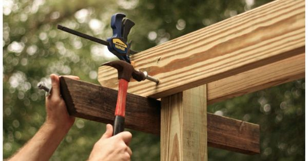 How To Build A Pergola From Scratch Http Www