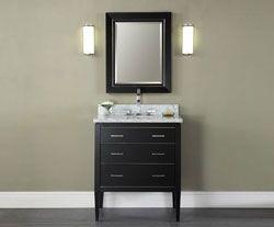 30 Xylem V Manhattan 30bk Bathroom Vanity Contemporary Bathroom Vanity Bathroom Vanities Without Tops Bathroom Furniture Vanity