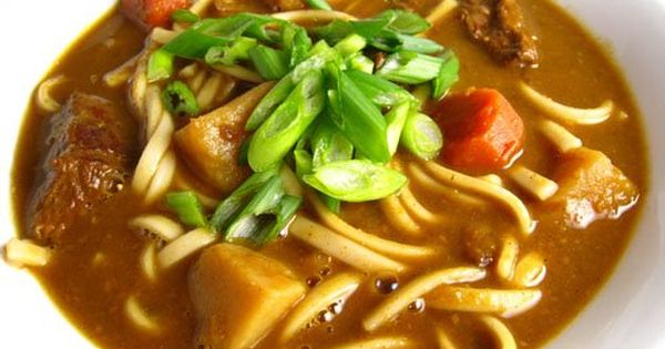 Closet Cooking: Kare Udon (Curry Udon Soup)